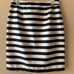 Black & White Forever 21 Skirt